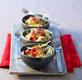 Salade de chou aux cranberries