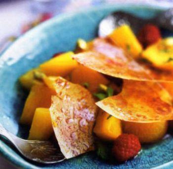 Salade de mangue et abricots