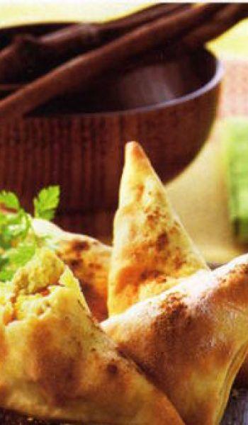 Samossas aux légumes cannelle