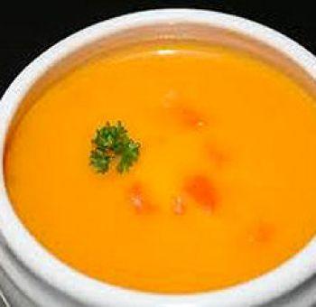 Velouté de carottes oranges