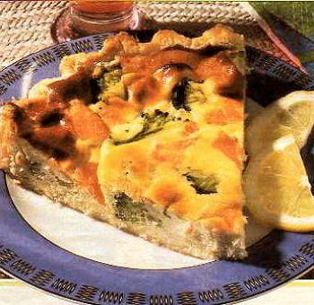 Tarte au tofu fumé et brocolis