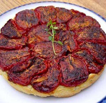 Tatin de tomates aux graines de fenouil