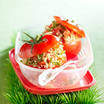 recette farce de quinoa pour tomates crues. Black Bedroom Furniture Sets. Home Design Ideas