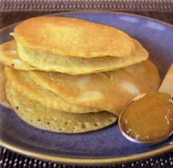 Crêpes, miel safran, sans gluten et sans lactose