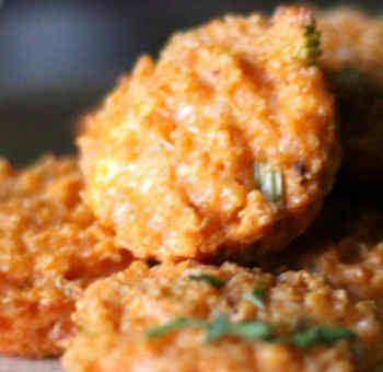 Croquettes de quinoa au fromage