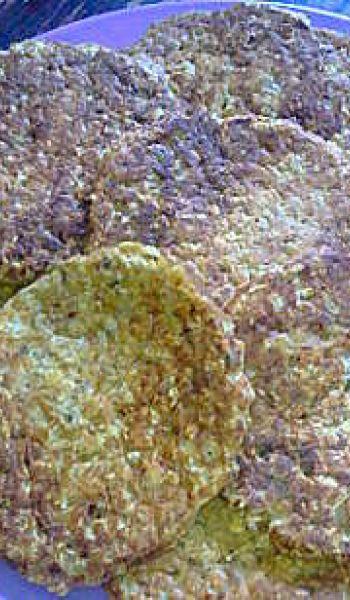 Flocons d'avoine à la crème de champignons
