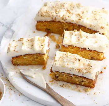Gâteau moelleux aux carottes