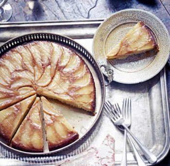 Gâteau poires gingembre