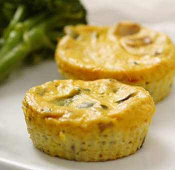 Mini Quiches de Tofu