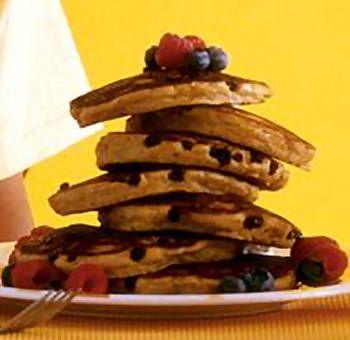 Pancakes banane maïs