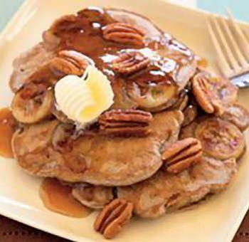 Pancakes sarrasin  banane