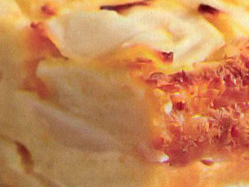 Pudding aux poires de saison