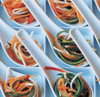 Râpés de légumes aigres-doux