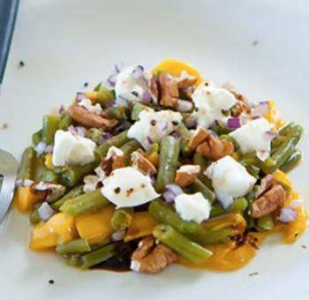 Salade de haricots mangue