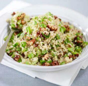 Salade de quinoa menthe persil
