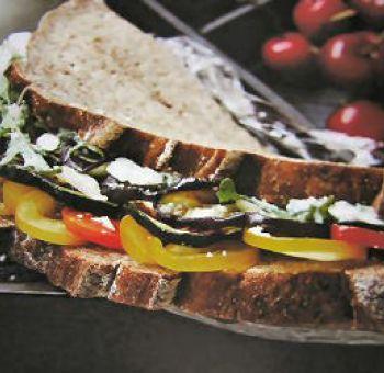 Sandwichs végétariens d'été