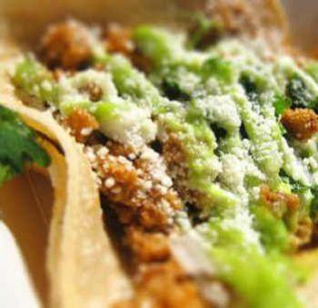 Tacos végétariens au seitan