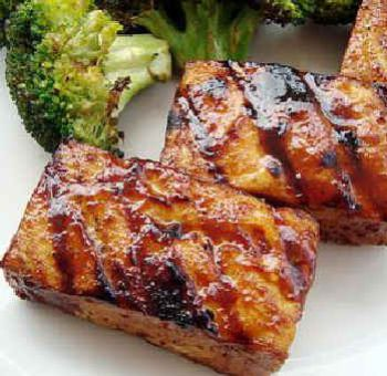 Tofu grillé sauce hoisin