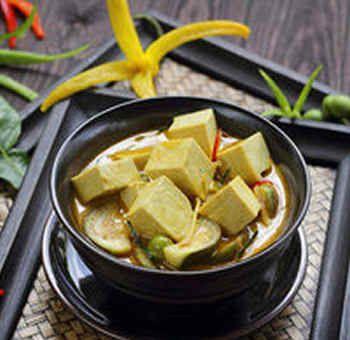 Tofu au lait d'amande