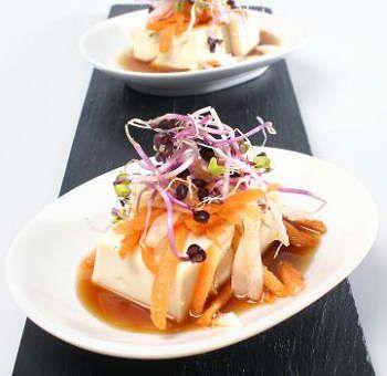 Tofu sauce japonaise